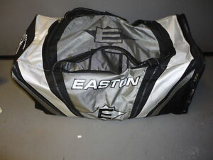 Hockey equipment.  Adult male