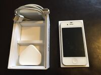 Apple iPhone 4S White 16gb, EE, VGC - Boxed