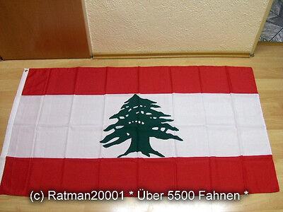 Fahnen Flagge Libanon neu - 90 x 150 cm