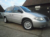 0505 CHRYSLER VOYAGER 2.8 CRD TURBO DIESEL AUTOMATIC 7 SEATER 78K FSH 1 OWNER