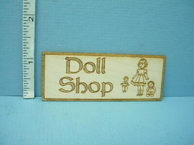 Miniature  Store Sign - Doll Shop SP108  Laser Cut Dragonfly 1/12th Scale](Dragonfly Store)