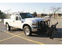 2008, Ford, F-350, ,  Pickup Truck, 4x4,With Snow Plow