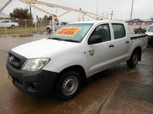 Toyota  Hilux Workmate Dualcab Utility