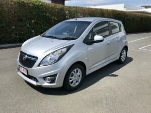 2014 Holden Barina Spark MJ MY14 CD Silver 4 Speed Automatic Hatchback Carseldine Brisbane North East Preview