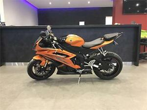 2009 YAMAHA YZF-R6!!$58.30 BI-WEEKLY WITH $0 DOWN! VIVID ORANGE!