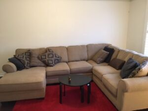 Moving must sell - Ashley Furniture like new Sectional mint cond