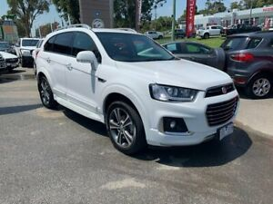 2018 Holden Captiva CG MY18 LTZ AWD White 6 Speed Sports Automatic Wagon Lilydale Yarra Ranges Preview