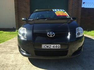 2007 Toyota Corolla ZRE152R Conquest Black 4 Speed Automatic Hatchback Campsie Canterbury Area Preview