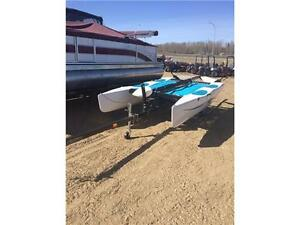 2013 Hobie Club Wave Sailboat With Trailer