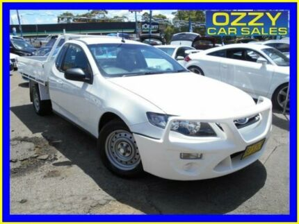 2013 Ford Falcon FG MK2 White 6 Speed Manual Cab Chassis Penrith Penrith Area Preview