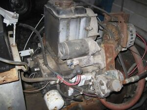 Kubota deisel 2cyl motor