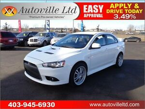 2011 Mitsubishi Lancer Ralliart AWD TURBO EVERYONE APPROVED