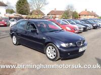 2002 (52 Reg) BMW 318i SE 4DR Saloon BLUE + 2 KEYS