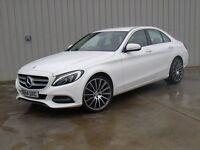 Mercedes C220 sport in stunning white