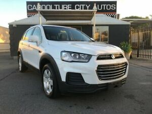 2016 Holden Captiva CG MY16 7 LS (FWD) White 6 Speed Automatic Wagon Morayfield Caboolture Area Preview
