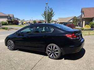 2013 Honda Civic Sedan Sunroof Bluetooth 5speed manual mint!