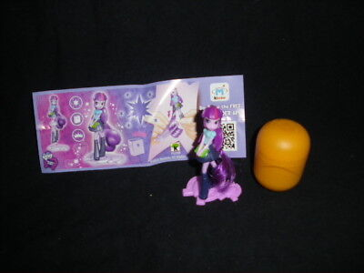 Used, G4 My Little Pony Equestria Girls Twilight Sparkle Kinder Surprise Egg Toy 4 for sale  Shipping to South Africa