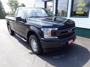 2018 Ford F-150 XL V6 4x4 w/ Back up cam & A/C! 998kms!