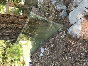 large safety glass panels