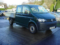 Volkswagen Transporter 2.0TDi ( 140PS ) LWB T30 DOUBLECAB PICKUP