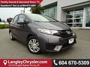 2017 Honda Fit LX *ACCIDENT FREE*ONE OWNER*LOCAL BC CAR*