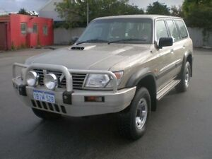2001 Nissan Patrol GU II ST (4x4) Silver 4 Speed Automatic 4x4 Wagon Victoria Park Victoria Park Area Preview