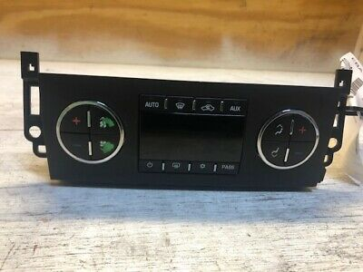 2007 Chevrolet Tahoe Temperature Control Unit OEM LKQ