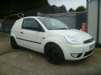 2004 ford fiesta tdci car derived van-we accept all major credit/debit cards