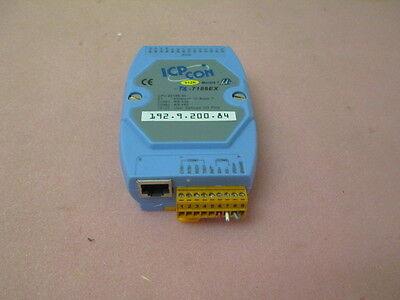 ICPCON CPU 80188-40 ETHENET 10 BASE T, C-7188EX CONTROLLER, 192-9-200-84