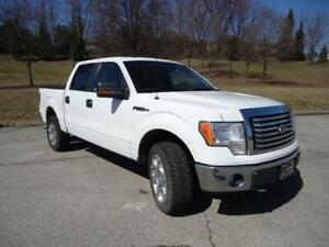 "2010 Ford F-150 5.4L LEATHER 4X4 20"" CHROME PKG LUXURY CREW!"