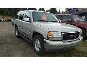 2005 GMC YUKON FULLY LOADED LEATHER Prince George British Columbia image 1