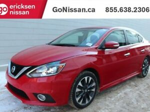 2016 Nissan Sentra SR: PADDLE SHIFT, AUTOMATIC, HEATED SEATS, BA