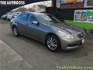 2008 Infiniti G35x AWD Luxury Sedan CERTIFIED! ACCIDENT FREE!