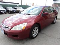2007 Honda Accord Sdn SE Certified and e-tested