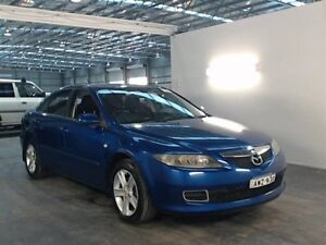 2005 Mazda 6 GG 05 Upgrade Classic Blue 6 Speed Manual Hatchback Beresfield Newcastle Area Preview