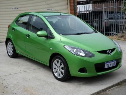 2009 Mazda 2 DE Neo Green 5 Speed Manual Hatchback Mount Lawley Stirling Area Preview
