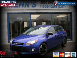 2014 Ford Focus SE Hatch back Bluetooth All Orig. No Accident