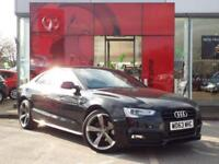 2013 AUDI A5 COUPE SPECIAL EDITIONS 2.0 TDI 177 Black Edition 2dr