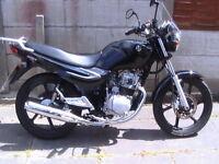 STM XS 124 K MOTORCYCLE . 2015 ONE OWNER. WARRANTY