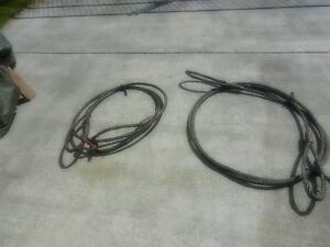 Wire rope slings  3/4 in  20 ft c/w eyes both ends Prince George British Columbia image 1