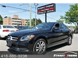 2016 Mercedes-Benz C 300 NAVI, BACKUP CAM, PANO ROOF, KEYLESS GO