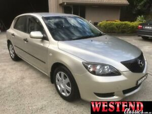 2006 Mazda 3 BK10F1 Silver Sports Automatic Hatchback Lisarow Gosford Area Preview