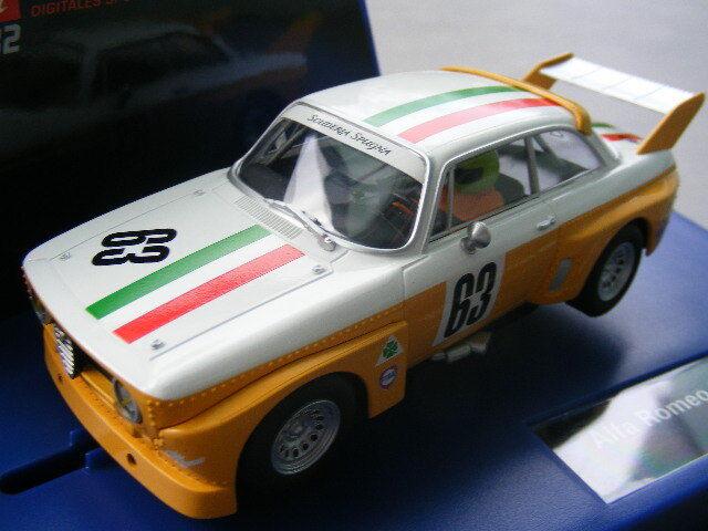 Carrera Digital 132 30625 Alfa Romeo GTA Silhouette Race 2 LICHT NEU OVP