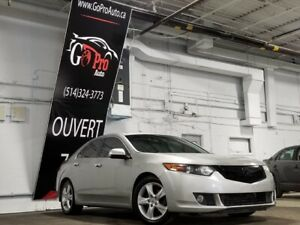 2009 Acura TSX *4 CYLINDRE*CUIR*AUTO*BLUETOOTH*PNEU HIVER w/Tech