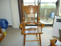 Rocking Chair- Lamps- Large Mirror