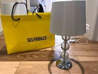 Brand NEW Murano Table lamp / bed side bedside lamps RRP £55