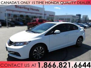 2013 Honda Civic EX | 1 OWNER | NO ACCIDENTS | SPOILER | TINT