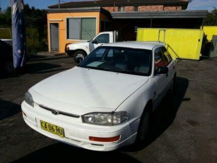 1996 Toyota Camry Vienta CSi White Automatic Sedan Islington Newcastle Area Preview