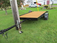5' x 10' flat bed utility trailor
