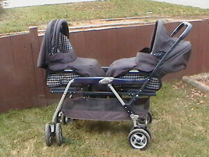 Prego Double Stroller For Sale